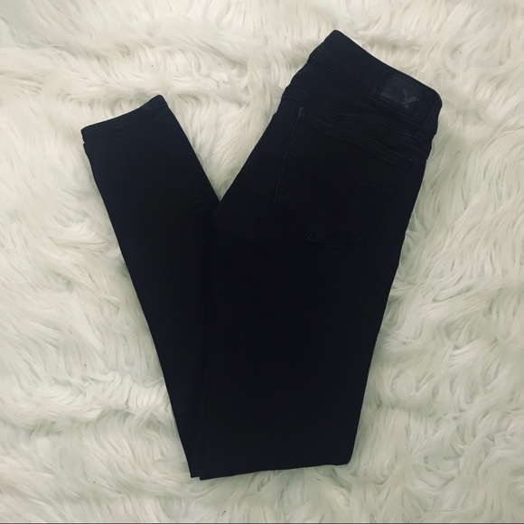 American Eagle Outfitters Denim - American Eagle black jegging size 0